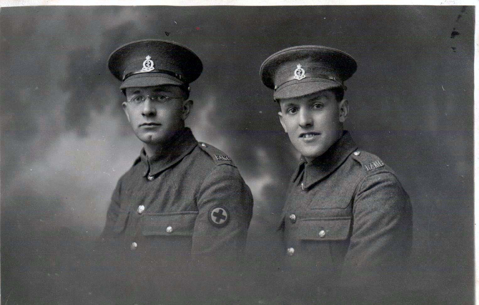 RAMC Privates, left SB, right medic.jpg