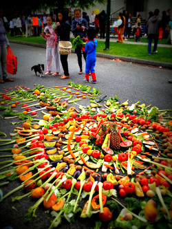 The Art of Food - mandala