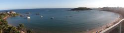 Praia de Peracanga.