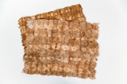 13. wild silk shibori brown placemat
