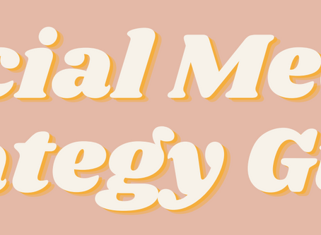FREE Social Media Strategy Guide