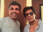 Ujjawal with SRK