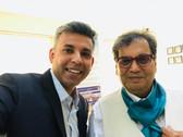 Ujjawal with Subhash Ghai
