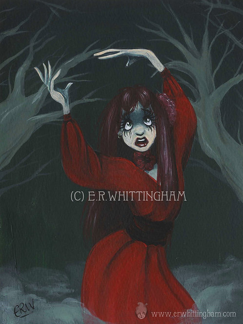 Kate Bush ORIGINAL PAINTING