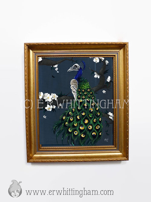 Peacock ORIGINAL PAINTING