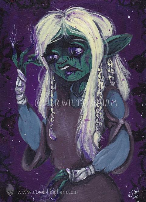 Deet (The Dark Crystal) ORIGINAL PAINTING