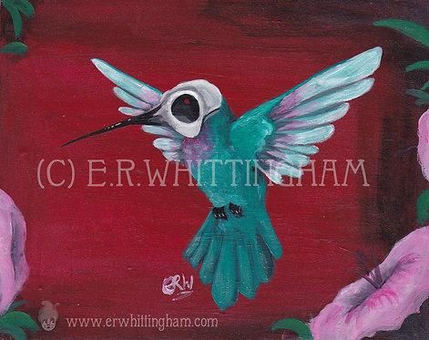 Hummingbird ORIGINAL PAINTING