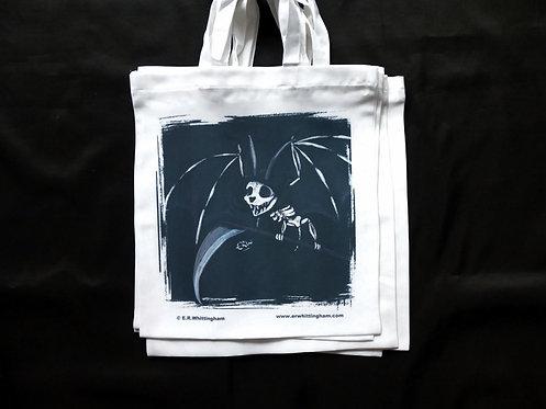 Grim Reaper Bat TOTE BAG