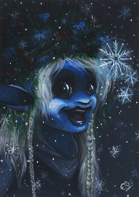 Winter Deet (The Dark Crystal) ORIGINAL PAINTING