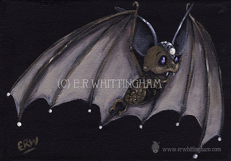 Clockwork Bat ART PRINT