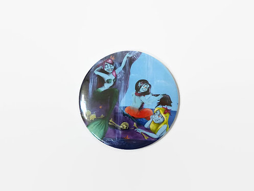Mermaids' Lagoon POCKET MIRROR