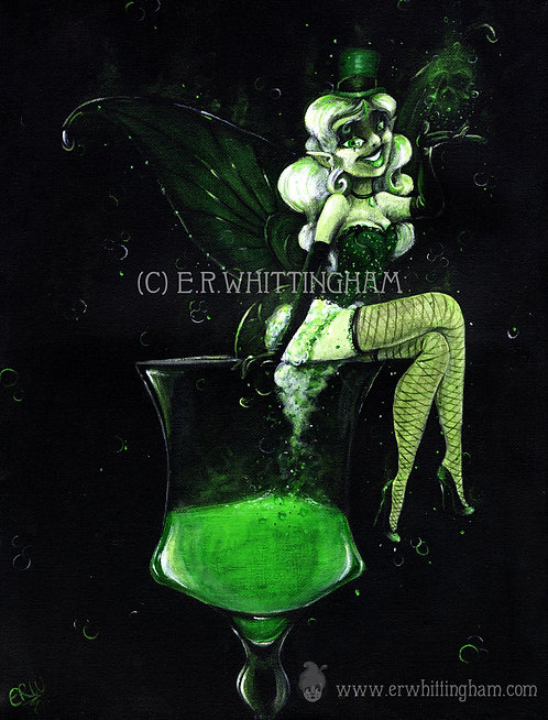 Absinthe Fairy ART PRINT