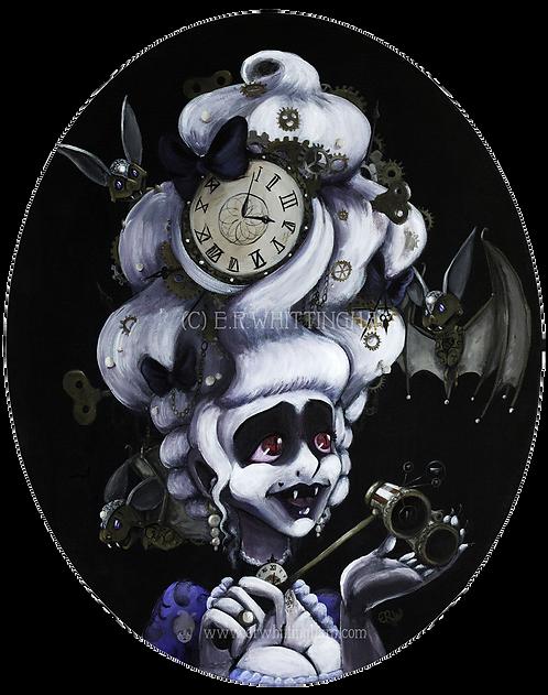 Steampunk Vampire ART PRINT