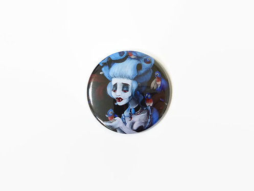 Bluebird Vampire POCKET MIRROR