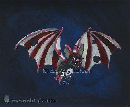 Pirate Bat ART PRINT