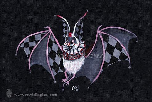 Harlequin Bat ART PRINT