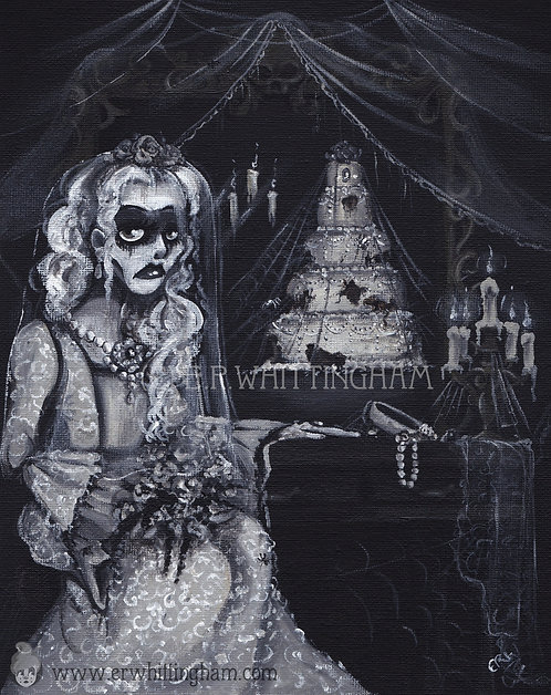 Miss Havisham ART PRINT