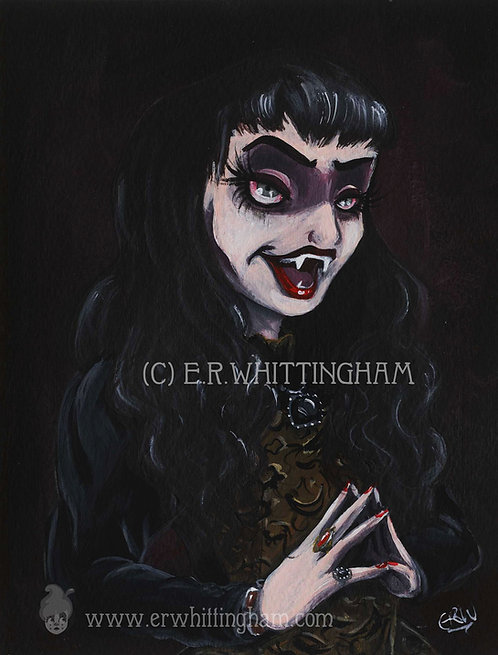 Nadja (What We Do in the Shadows) ORIGINAL PAINTING
