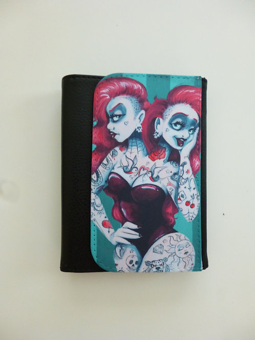 The Incredible Two Headed Tattooed Lady PURSE