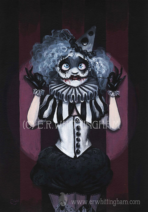 Mimi the Mime ART PRINT