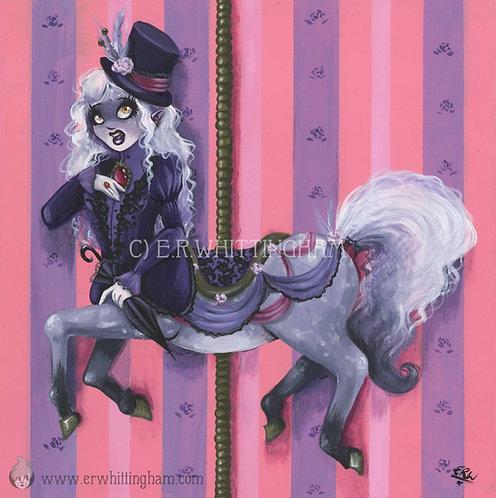 Carousel Centauress ORIGINAL PAINTING