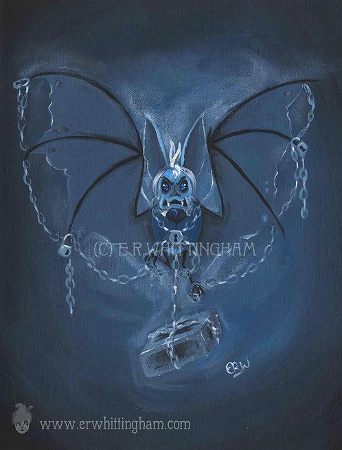 Jacob-Bat Marley ART PRINT