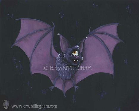 Cyclops Bat ORIGINAL PAINTING