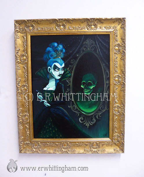 The Wicked Queen ORIGINAL PAINTING