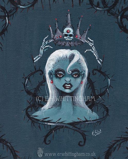 Queen of Thorns ORIGINAL PAINTING