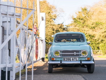 An afternoon in Wymondham with a 1984 Renault 4.