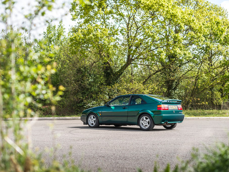 Monday mornings in a Volkswagen Corrado VR6.