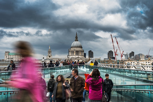 Moody skies over St. Pauls