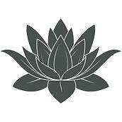 sticker-fleur-de-lotus-gris-fonce-21-x-3