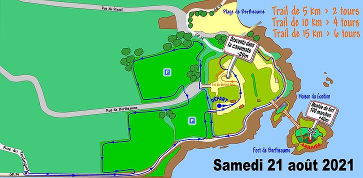 Plan du Fort de Bertheaume Animations 20