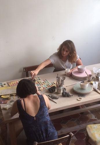 cours stages céramique enfants adultes paris