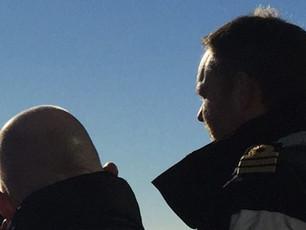 HMS DUNCAN PREPARES FOR GULF