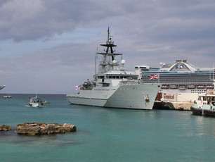 SEVERN PROVES CARIBBEAN PATROL ROLE