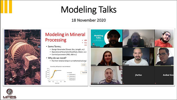 "MPES organized the ""Modeling Talks"" meet"
