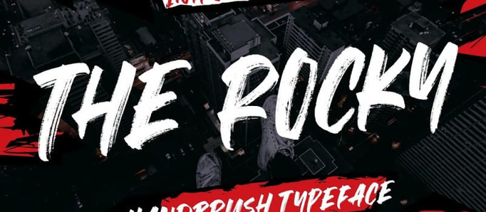 The Rocky Brush Font - Download Free Fonts