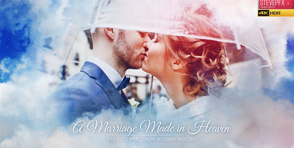 Marriage Made in Heaven | Wedding Invitation | Wedding Opener | Wedding Slideshow – 305529