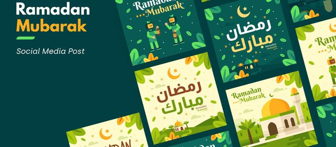 Ramadan Social Media Post Template RAP8JMH