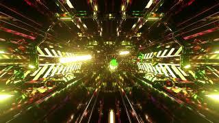 Sci Fi Vj Light Tunnel 28829311   Free download