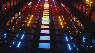 Running Neon Path Loop 4K – 30403345