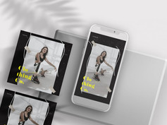 Aesthetic & Bloggers Free Instagram Banners (PSD)