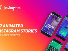 Instagram Stories 22414139 Free Download After Effects Project