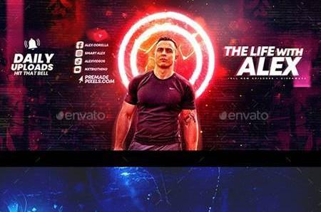 Epic Youtube Channel Art Set 8 30160907