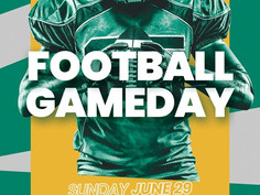 Free American Football PSD Flyer Template