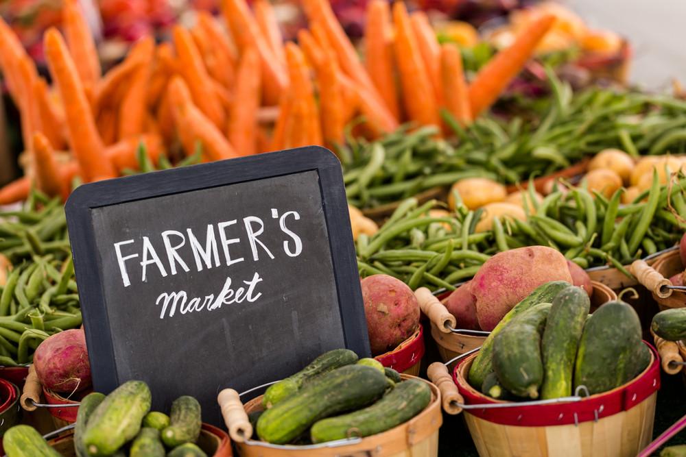 Fresh Produce at the Sonoma Farmer's Market