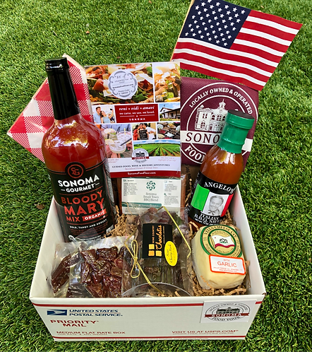 """""""Made in Sonoma"""" BBQ Gift Box"""