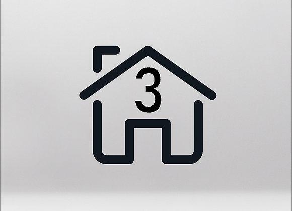 Impianto per appartamento 3 stanze fino a 65m² [PACCHETTO BASE]